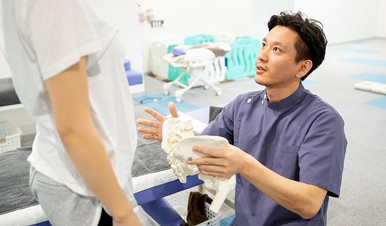 当院は痛みや不快症状に真剣に取り組んでいます。だからこそ当院を本当に求めている患者様を選ばせていただいております。