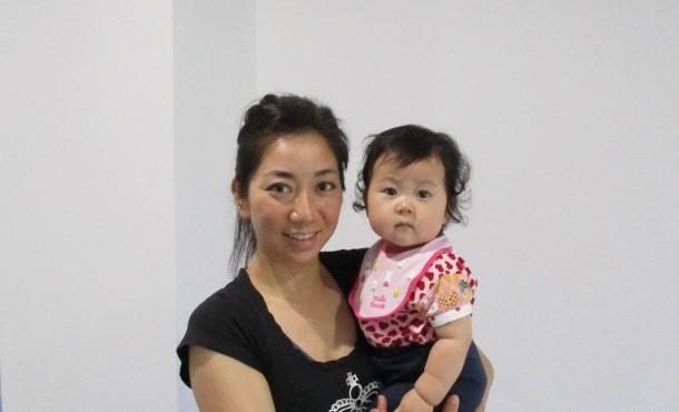 赤ちゃんと一緒でも、安心して施術ができました
