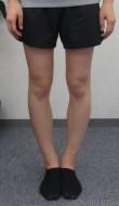 私の硬い足もちょっとずつ真っ直ぐになるのが実感できた・・・