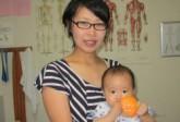 体重も4ヶ月時点で妊娠前に戻り、腰痛もずいぶん良くなりました・・・尾頭橋整体院